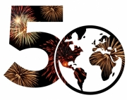Faculty of Applied Health Sciences 50th Anniversary Logo - Canada Day