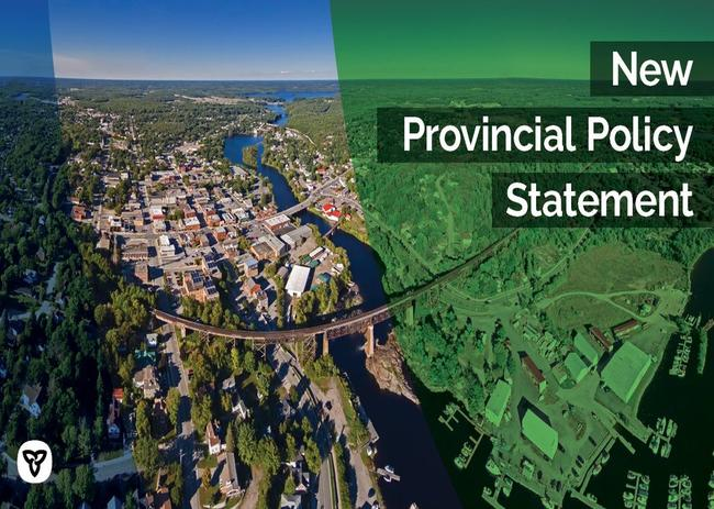 New Provincial Policy Statement