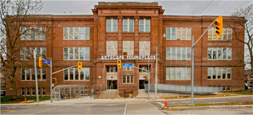 Artscape Youngplace building front
