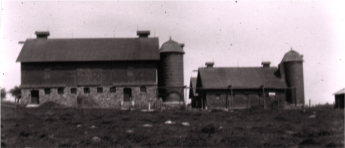 Old image of a farm