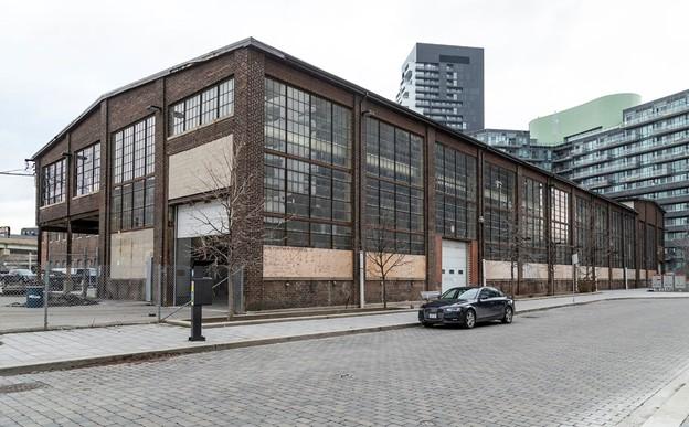 Industrial Building in Corktown Neighbourhood