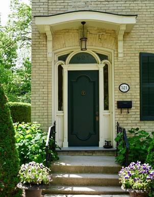 London Doorway of the home of Jermiah Moran