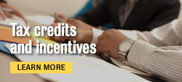 Tax credit and incentives