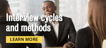 Interview cycles and methods