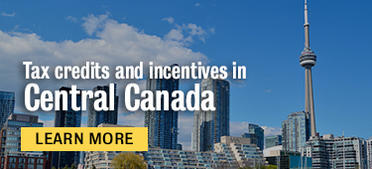 Tax credit and incentives in Central Canada