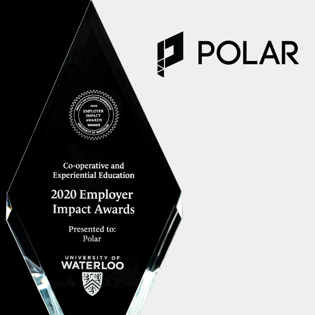 polar logo and trophy