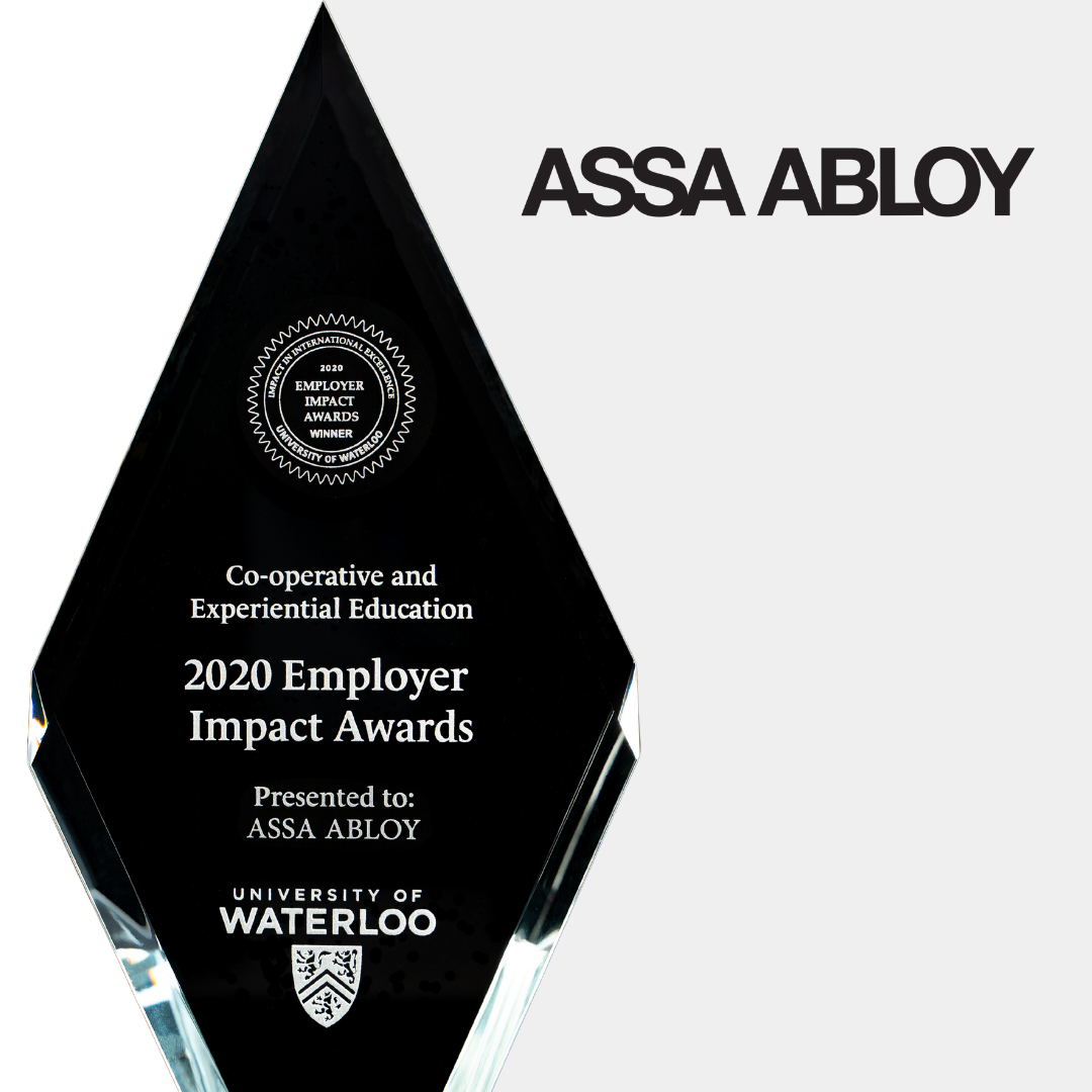assa abloy trophy and logo