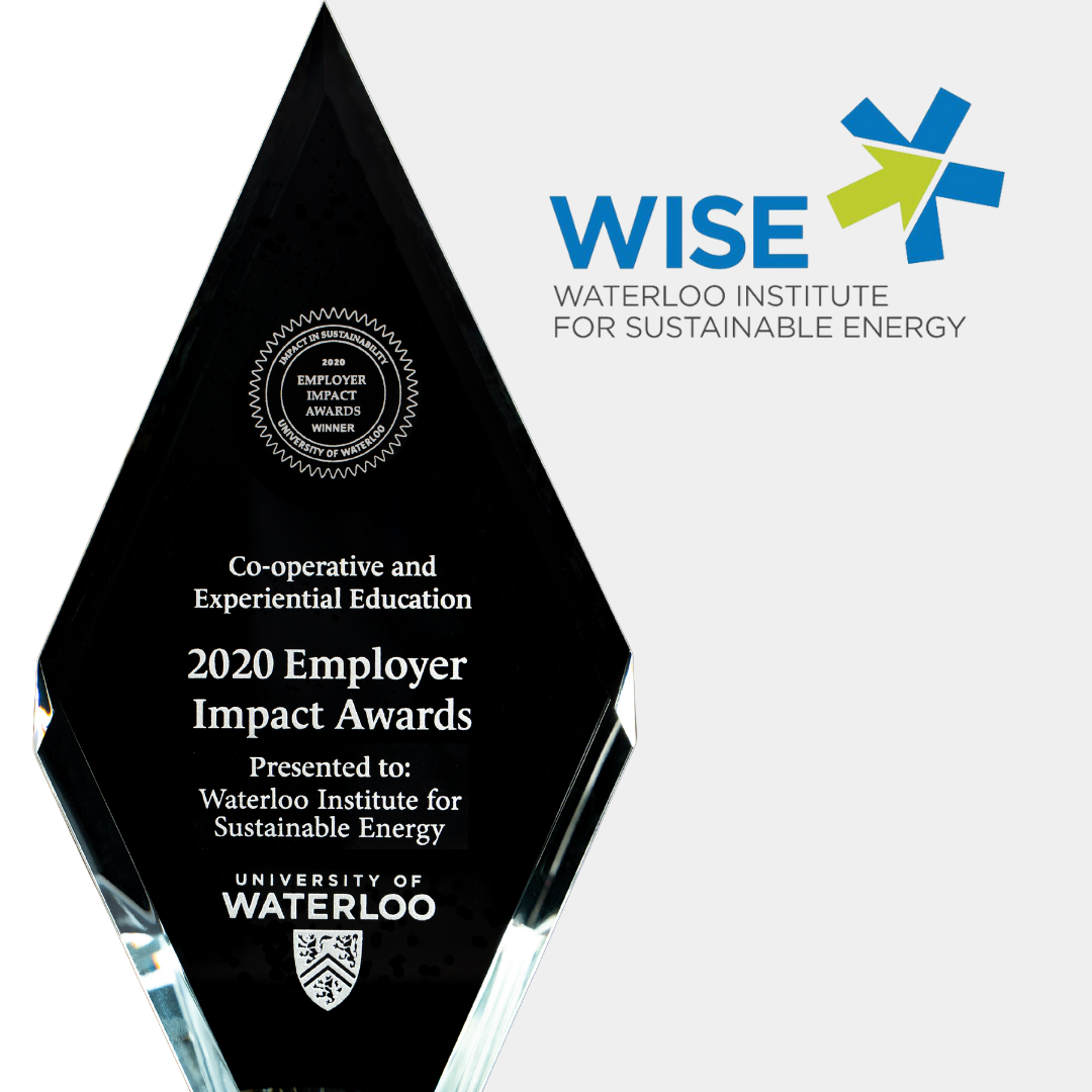 wise logo and trophy