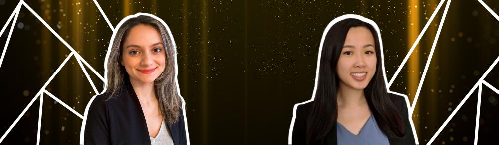 Tara Behroozian and Emily Lam, Outstanding Young Investigator Award winners