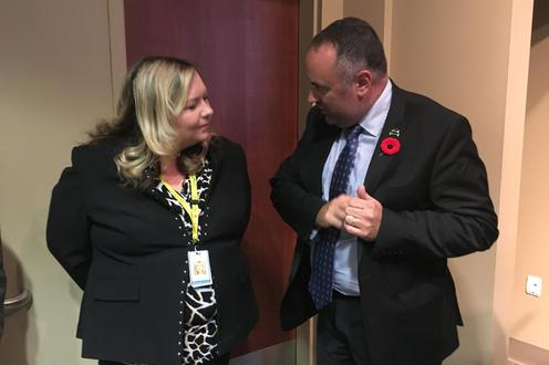 Ross Johnston speaks with Tara Coxon, Chief Information Officer at St. Joe's