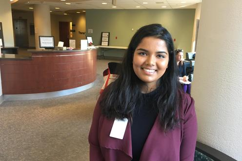 Shaambhavi Sharma, a Waterloo student, was on the data validation team