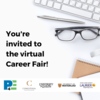 you're invited to the career fair