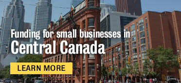 Funding small businesses in Central Canada