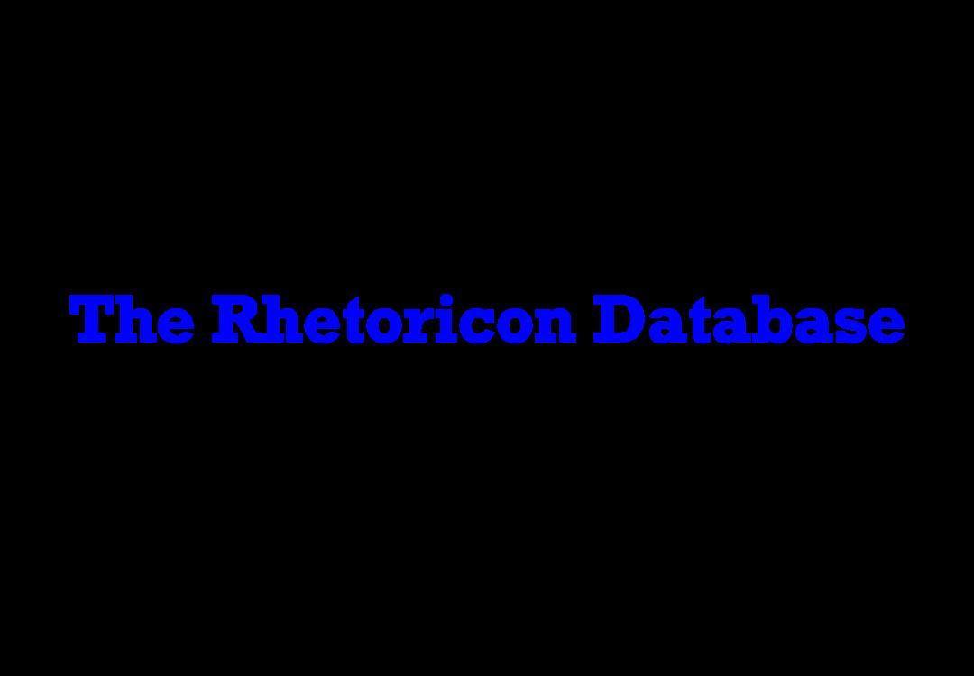 Rhetoricon Database logo