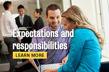 Click here to learn about expectations and responsibilities