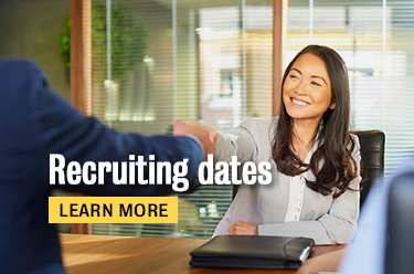 Click here to learn more about recruiting dates!