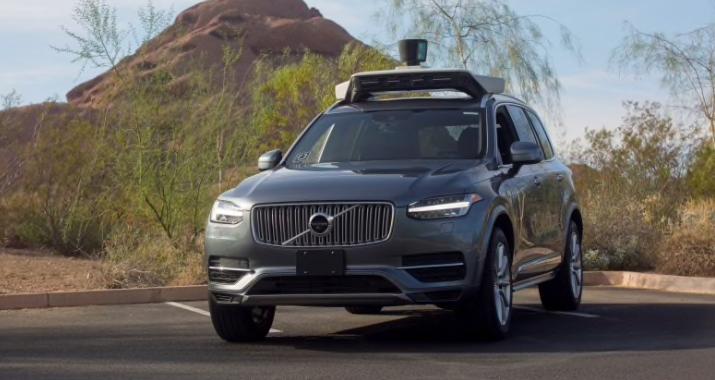 A self-driving Volvo