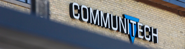 Communitech sign on building
