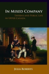 Taverns and Public Canada book cover