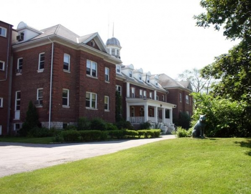The Woodland Centre, a former residential school.