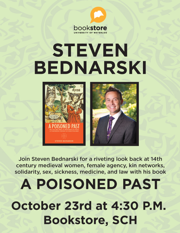 Bednarski Book Launch Poster