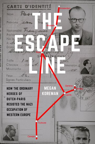 Cover of Megan Koreman's The Escape Line