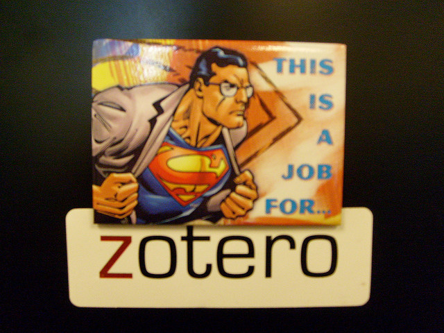 Zotero to the rescue