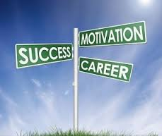 Success, motivation and career signs