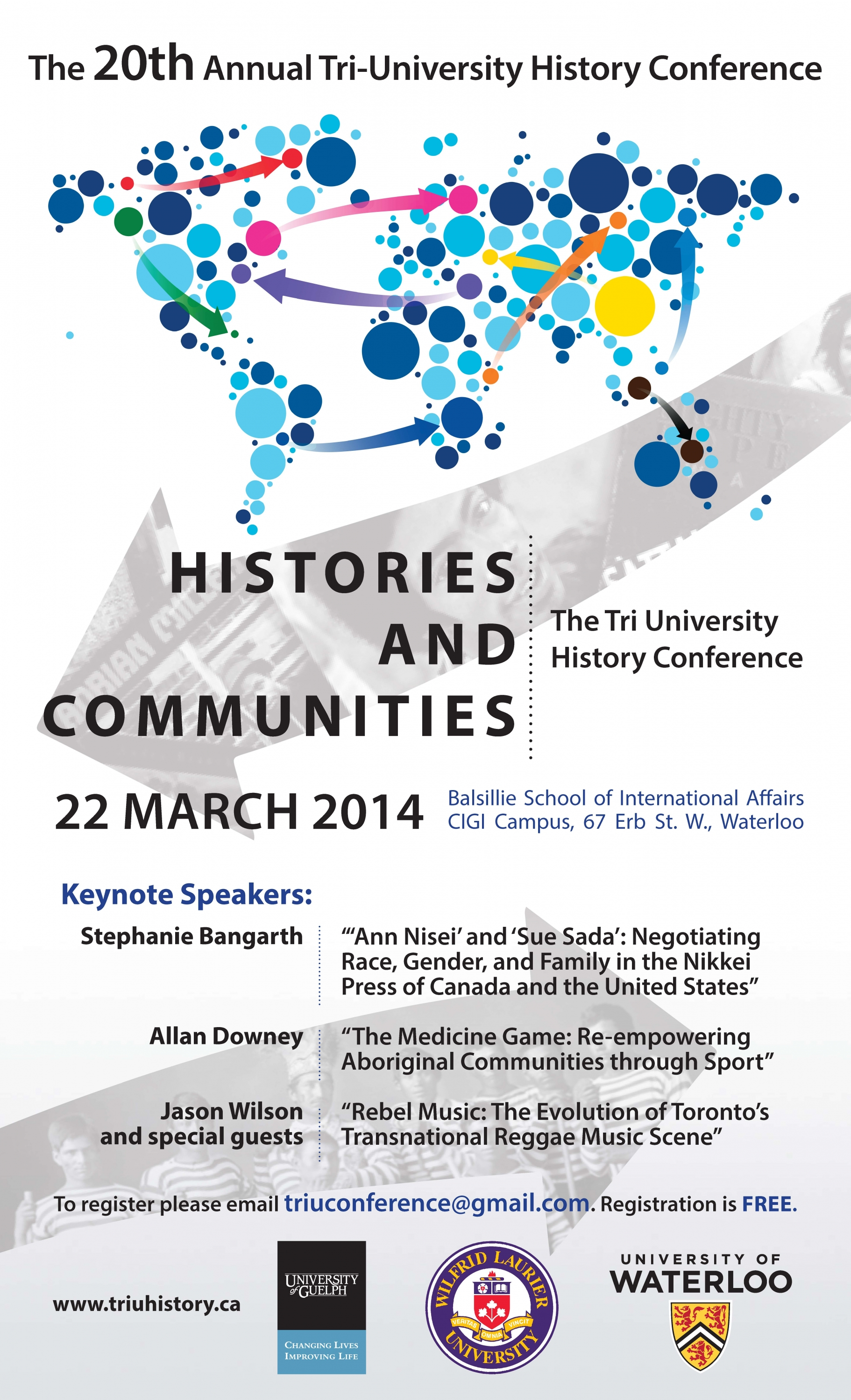 Tri-University Conference poster