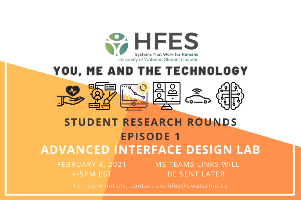 Student Research Rounds - Episode 1 featuring Advanced Interface Design LAb