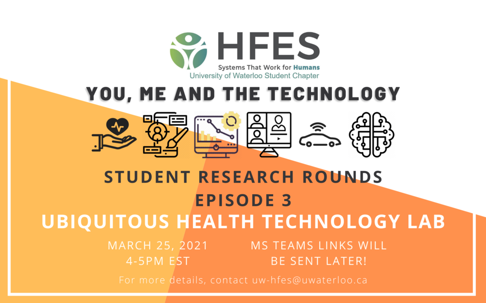 Student Research Rounds - Episode 3 featuring Ubiquitous Technology Lab