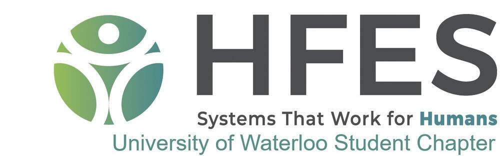 HFES University of Waterloo Student Chapter Logo