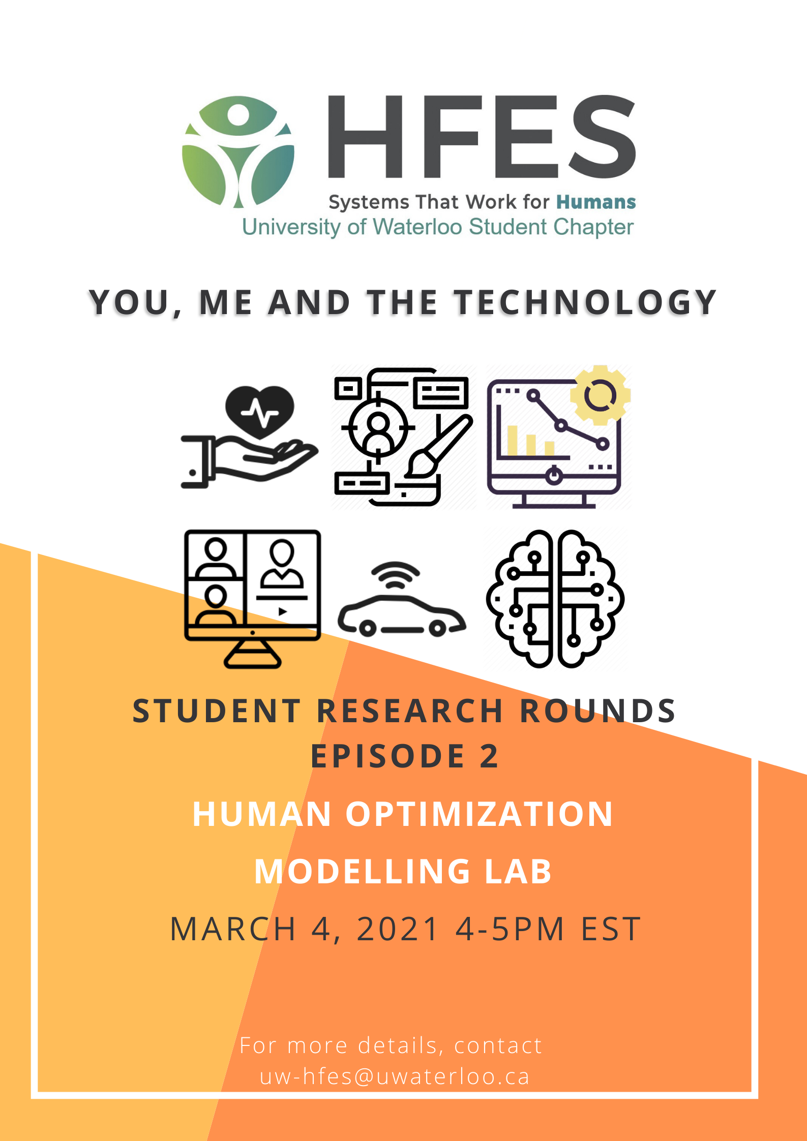 Student Research Rounds, Episode 2 featuring Human Optimization Modelling Lab