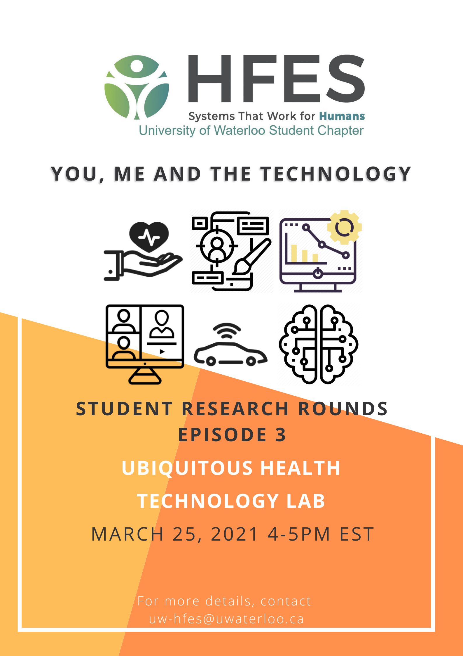 Student Research Rounds, Episode 3 featuring Ubiquitous Health Technology Lab