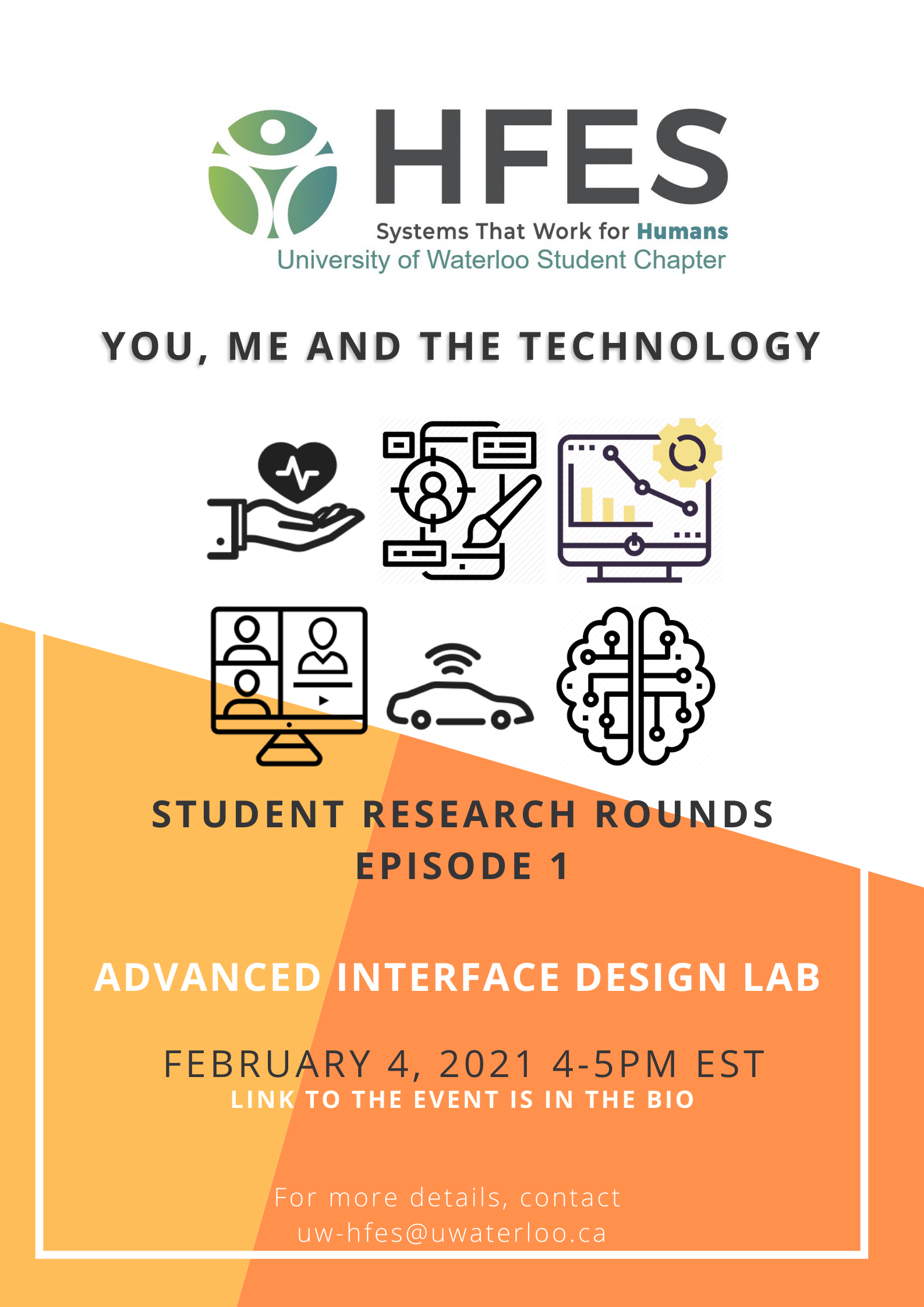 Student Research Rounds, Episode 1 featuring Advanced Interface Design Lab