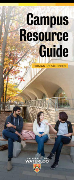 campus Resources Guide 2018