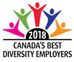 Canada's Best Diversity Employers 2018 logo