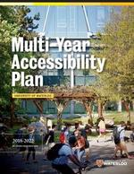 Cover of the Multi-Year Accessibility Plan