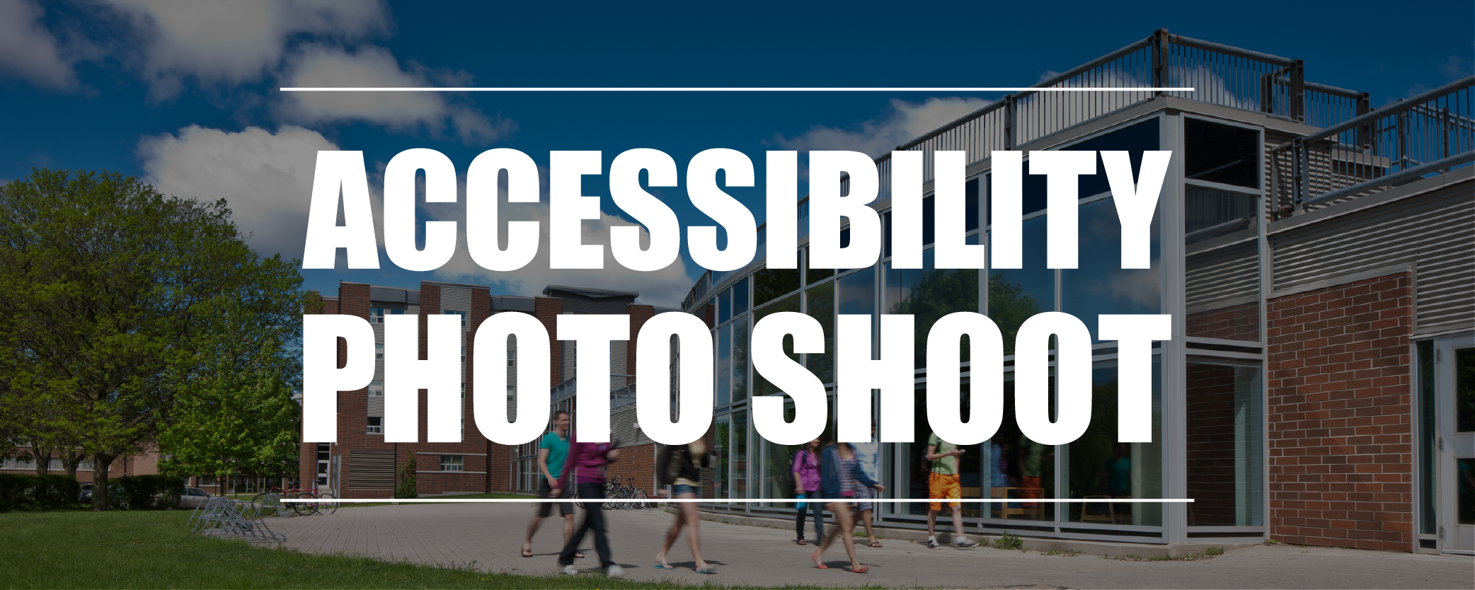 Accessibility Photo Shoot banner