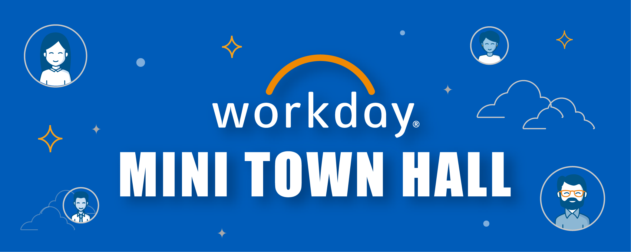 Workday Mini Town Hall banner