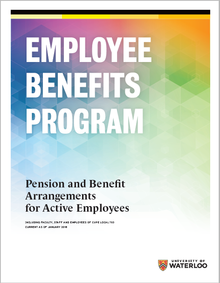 Employee Benefits program booklet cover