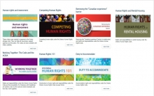 OHRC eLearning modules
