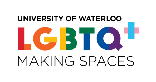 LGBTQ+ Making Spaces Logo