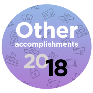 other accomplishments 2018