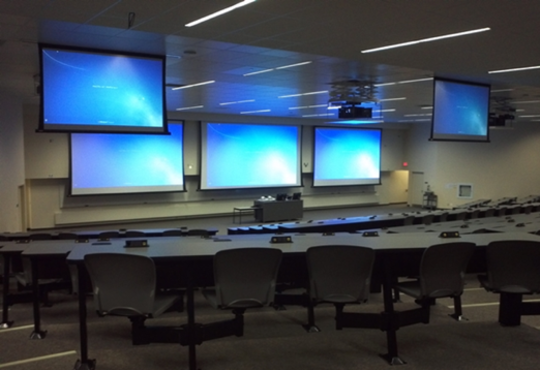 Large room example, Math 3 room 1006