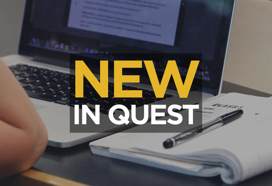 New in Quest