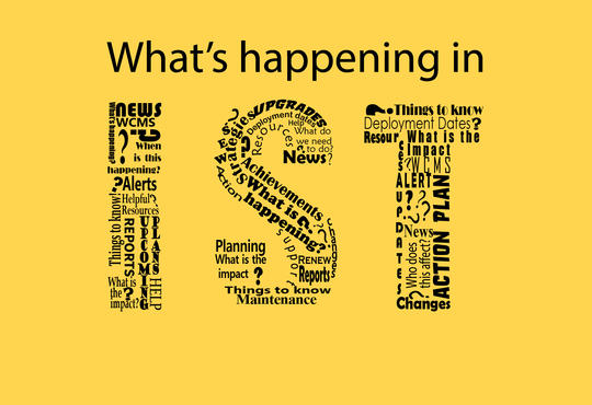 What's happening in IST?