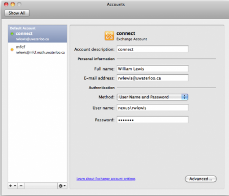 add email to mac outlook 2011