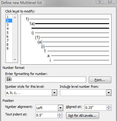 Creating And Numbering Equations With Microsoft Word 2007