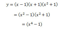 Example of equation with default centering